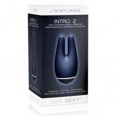 Стимулятор для клитора двойной Intro 2 Blue (JJ 12443)