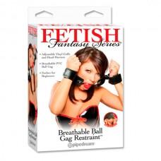 Кляп-наручники Breathable Ball Gag Restraint (PD3935-00)