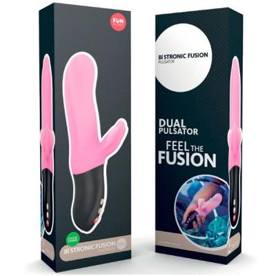 Пульсатор FunFactory Bi Stronic Fusion, нежно-розовый