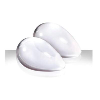 Вагинальные шарики Cryst'al Kegel eggs из стекла большие прозрачные