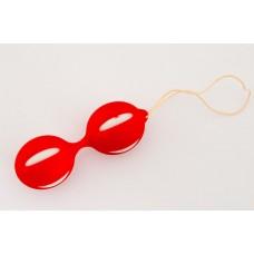 Вагинальные шарики красные (815001-9)