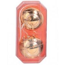 Вагинальные шарики золото 3,5 см (50174)