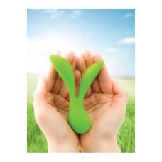 Перезаряжаемый вибромассажер Vitality by LEAF зеленый