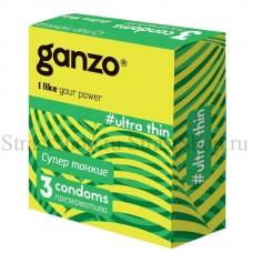 Презервативы Ganzo Ultra thin № 3 Супер тонкие (Gn-11029)