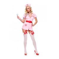 Костюм Похотливая медсестра, розовый (Le Frivole) (ML)