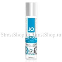 Классический лубрикант на водной основе с охлаждающим эффектом JO H2O Cool (30мл)