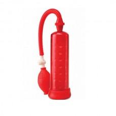 Помпа мужская Silicone Power красная (PD3255-15)