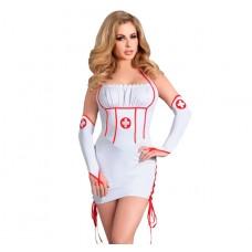 Костюм медсестры Raisa, белый L\XL (32630L/XL)