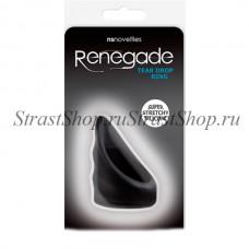 Эрекционное кольцо Renegade - Tear Drop Cockring - Black (NSN-1116-53)