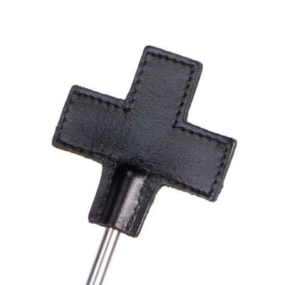 Стек Sitabella металлический с крестообразным кожаным наконечником