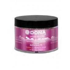 Соль для ванны меняющая цвет воды DONA Tropical Tease 215 г (JO40577)