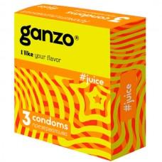 Презервативы Ganzo Juice №3 Ароматизированные 3 шт. (Gn-11003)