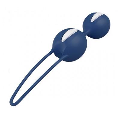 Вагинальные шарики FunFactory Smartballs Duo, синий