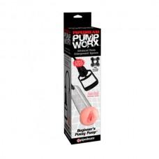 Вакуумная помпа для мужчин Pump Worx Beginner's Pussy Pump