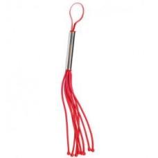 Плеть Sittabella резиновая 8 хвостов, красная 23 см (6010-2)