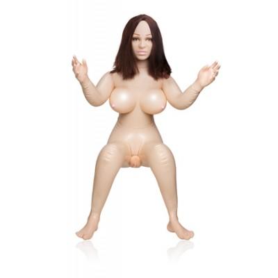 Реалистичная секс кукла Vivid Raw Doggy Style Diva Love Doll телесная