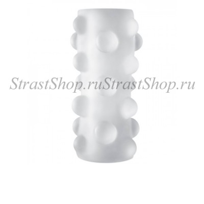 Мастурбатор Optimale  Reversible UR3 Stroker Rollerball прозрачный