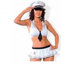 Игровой костюм SAILOR (Белый, SM) (SAILOR SM Белый)