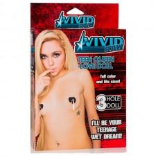 Секс-кукла Vivid Raw Teen Queen Love Doll телесная