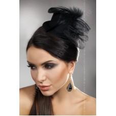 Шляпка черная mini TopHat 18