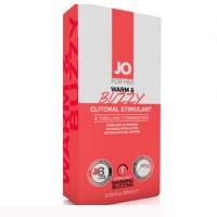 Гель для клитора на маслянной основе с контрастом температур и вибрацией JO Warm & Buzzy (10мл)