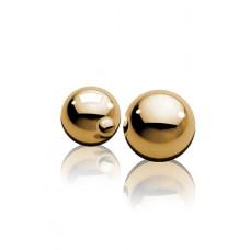 Вагинальные шарики Fetish Fantasy Gold Ben-Wa Balls золотые (PD3990-27)