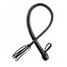 Плеть Sittabella однохвостная черная (4010-1)