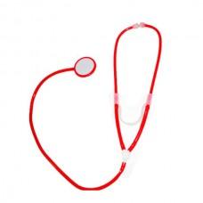 Стетоскоп медицинский красный (Le Frivole)