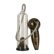 Автоматическая мужская помпа Automatic Rock Hard Pump прозрачная