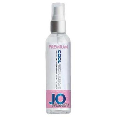 Охлаждающая гель смазка силиконовая для женщин JO 120 мл