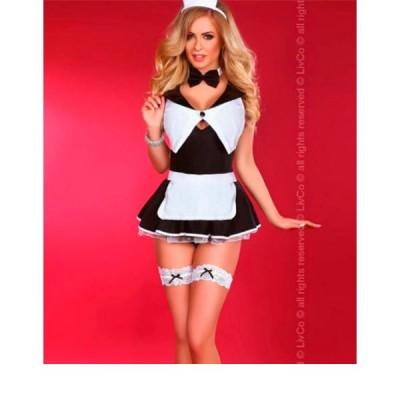 Костюм горничной Flirty Maid (LivCo Corsetti Fashion) (L/XL)